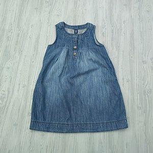 {BabyGAP} Denim Pullover Dress